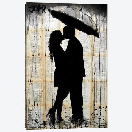 Rain Lovers Canvas Print #LJR26} by Loui Jover Canvas Art Print