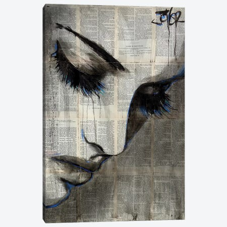 Deep Shore Canvas Print #LJR270} by Loui Jover Canvas Art