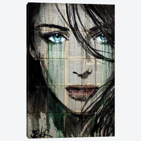 Everybody Has ... Canvas Print #LJR273} by Loui Jover Canvas Wall Art