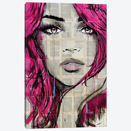 Faythe Canvas Print #LJR274} by Loui Jover Canvas Print