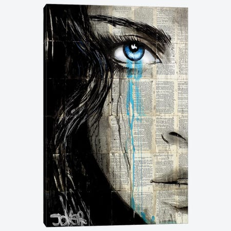Her Dystopia Canvas Print #LJR278} by Loui Jover Canvas Art