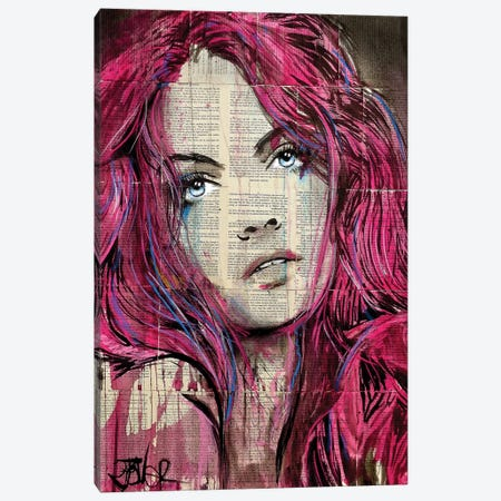 Incinerate Canvas Print #LJR279} by Loui Jover Canvas Art
