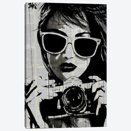 Shoot Canvas Print #LJR27} by Loui Jover Canvas Print