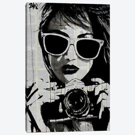 Shoot Canvas Print #LJR27} by Loui Jover Canvas Print