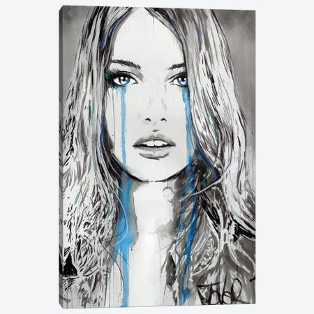 Never The Less Canvas Print #LJR285} by Loui Jover Canvas Artwork