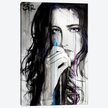 Rush Canvas Print #LJR288} by Loui Jover Canvas Print