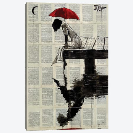 Serene Days Canvas Print #LJR289} by Loui Jover Canvas Print