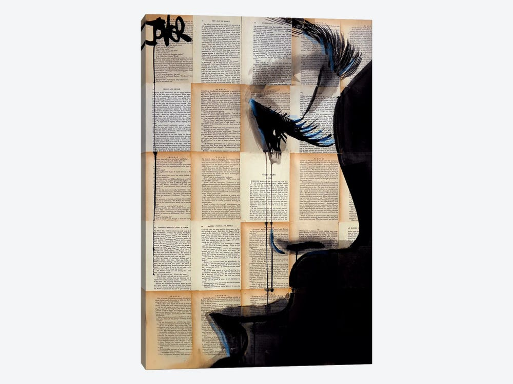 Solace by Loui Jover 1-piece Canvas Print