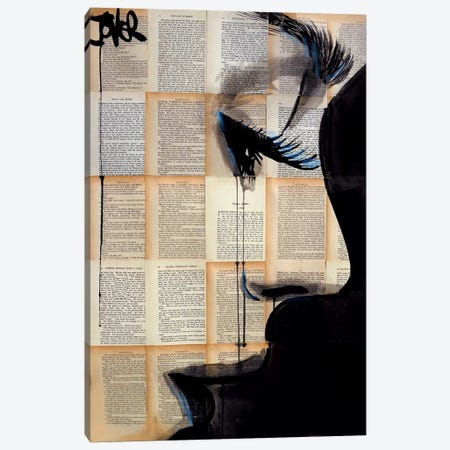Solace Canvas Print #LJR28} by Loui Jover Canvas Artwork