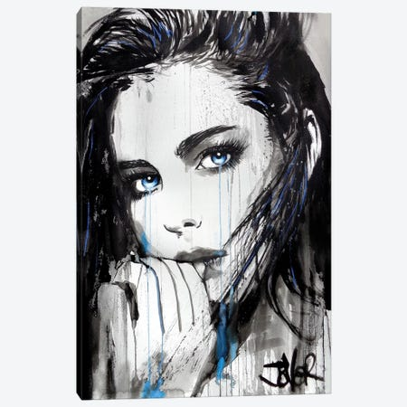 Signs 3-Piece Canvas #LJR290} by Loui Jover Canvas Artwork