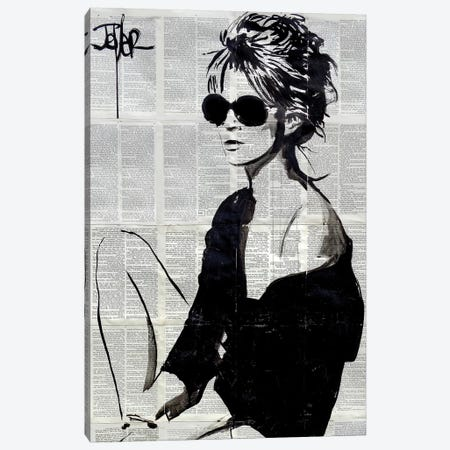 Summers End Canvas Print #LJR292} by Loui Jover Canvas Wall Art