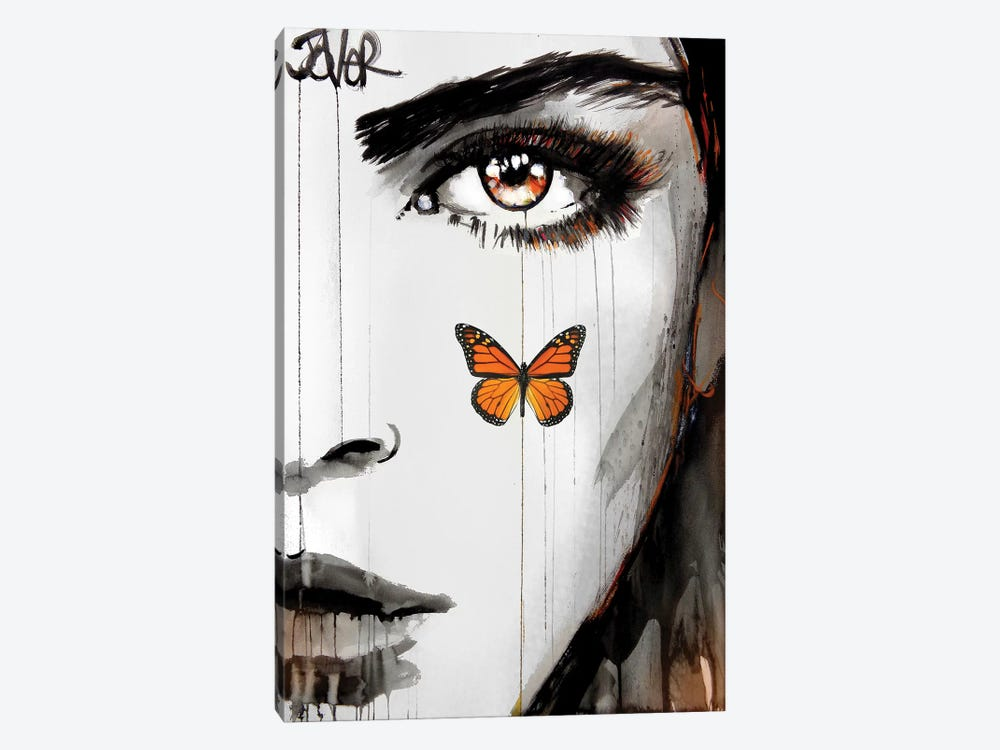 Tangerine Dream by Loui Jover 1-piece Canvas Art