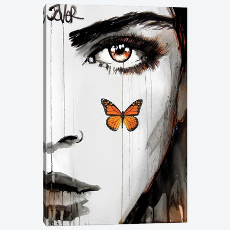 Tangerine Dream Canvas Print #LJR293} by Loui Jover Canvas Art