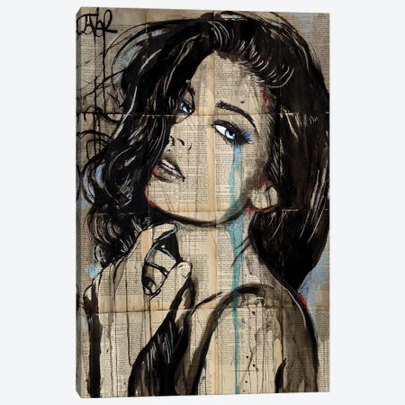The New Page 3-Piece Canvas #LJR294} by Loui Jover Canvas Print