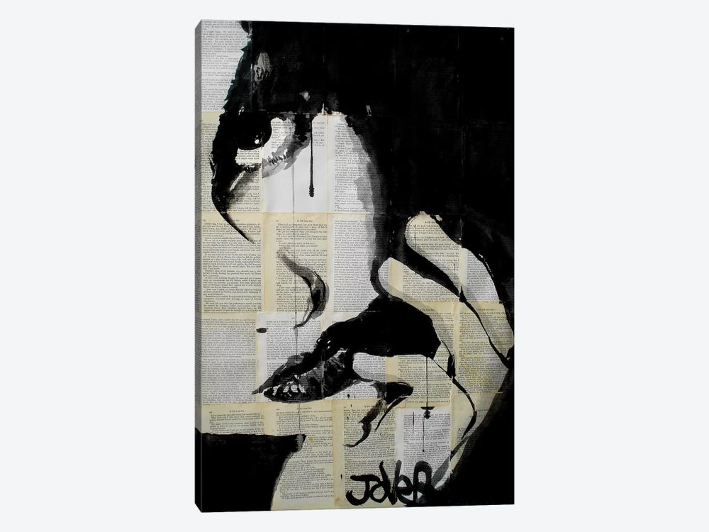 Sometimes Hearts Are Dark by Loui Jover 1-piece Canvas Art
