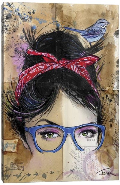 Threads Canvas Print #LJR2