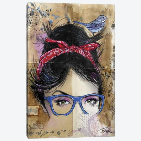 Threads Canvas Print #LJR2} by Loui Jover Canvas Art