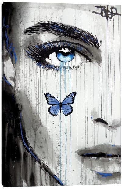 Blue Karma Canvas Art Print