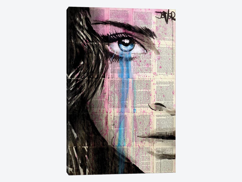 Pink Dystopia by Loui Jover 1-piece Canvas Artwork