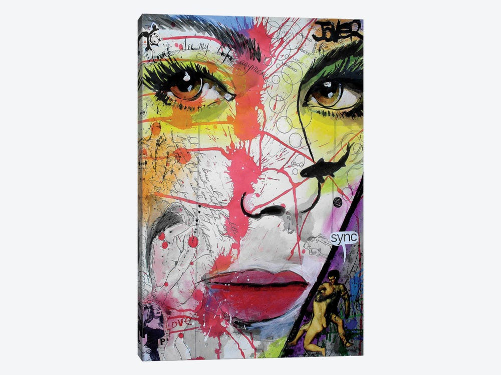 Sync by Loui Jover 1-piece Canvas Art