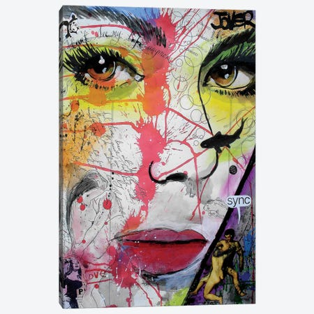 Sync Canvas Print #LJR30} by Loui Jover Canvas Print