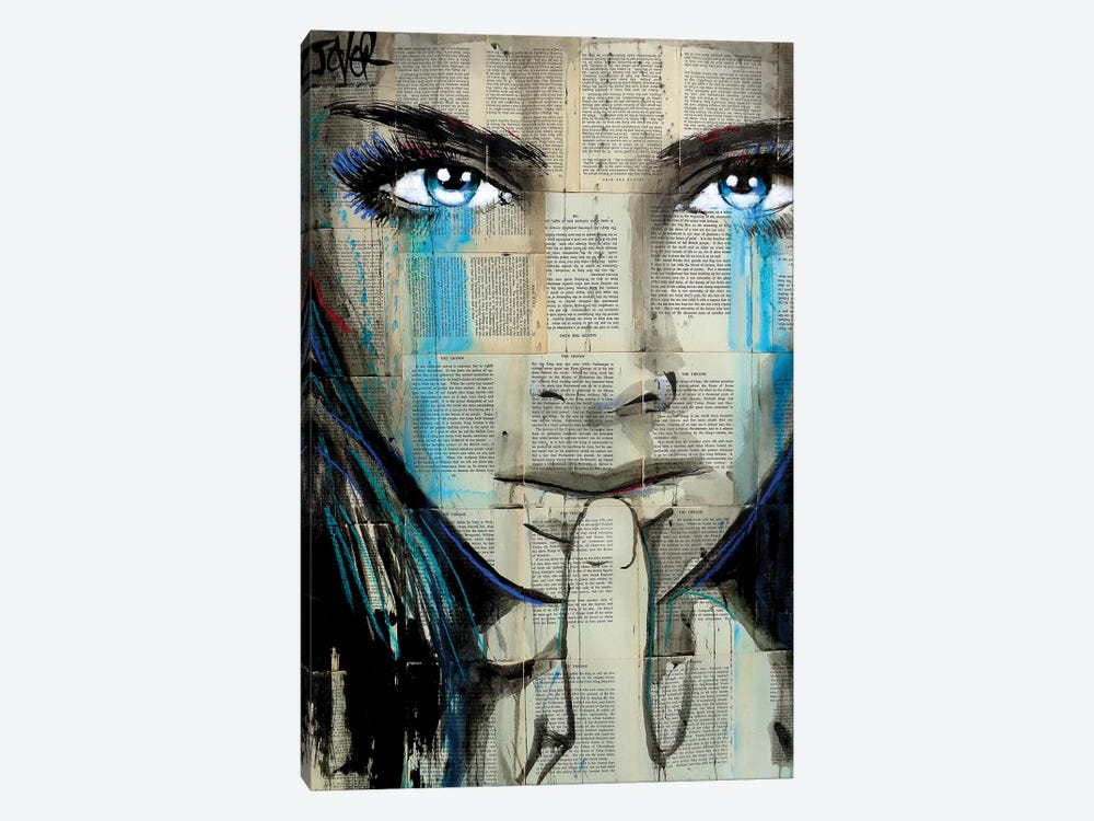 Reign by Loui Jover 1-piece Canvas Wall Art
