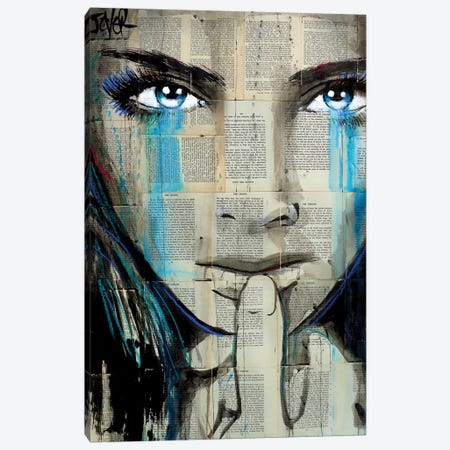 Reign Canvas Print #LJR310} by Loui Jover Canvas Art Print