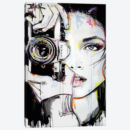 A Bigger Zoom Canvas Print #LJR314} by Loui Jover Canvas Wall Art