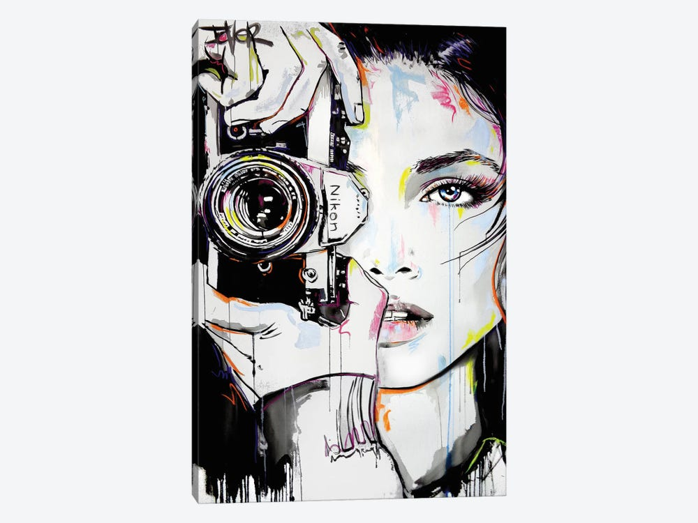 A Bigger Zoom by Loui Jover 1-piece Canvas Art