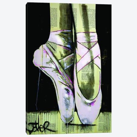 Chausson De Danse 3-Piece Canvas #LJR319} by Loui Jover Canvas Art Print