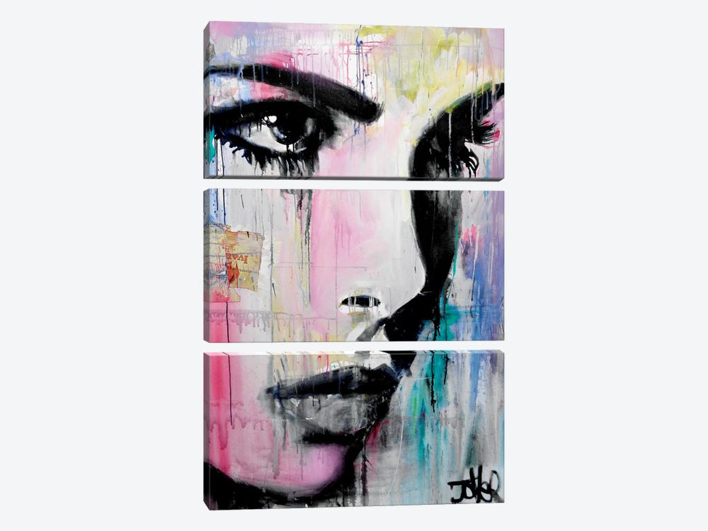 Tempest by Loui Jover 3-piece Canvas Art Print