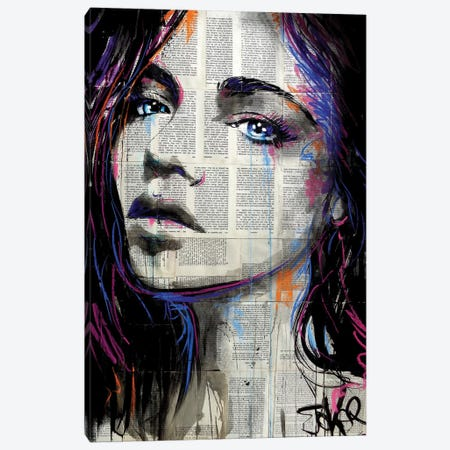 Dream Along Canvas Print #LJR322} by Loui Jover Canvas Artwork