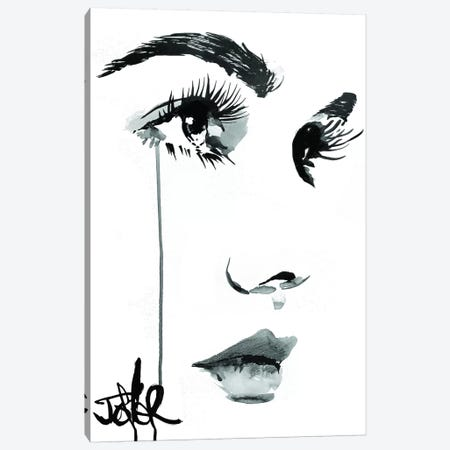 Fundamentally Speaking Canvas Print #LJR326} by Loui Jover Art Print