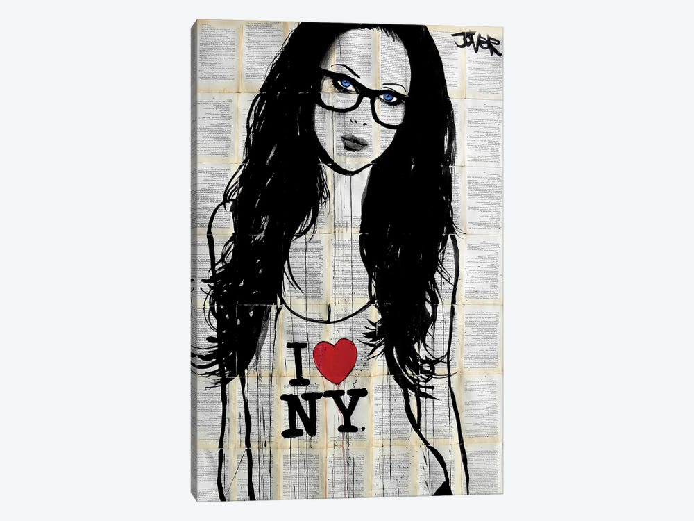The New Yorker by Loui Jover 1-piece Canvas Art