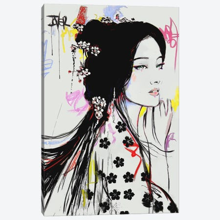 Jing Canvas Print #LJR330} by Loui Jover Canvas Art Print