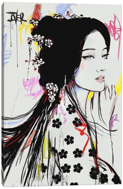 Jing Canvas Art Print