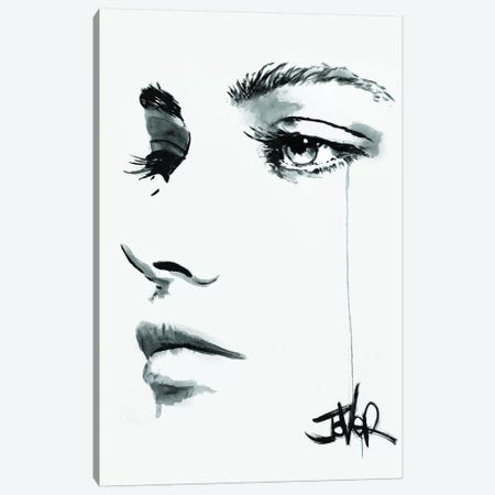 No Reply Canvas Print #LJR336} by Loui Jover Canvas Wall Art