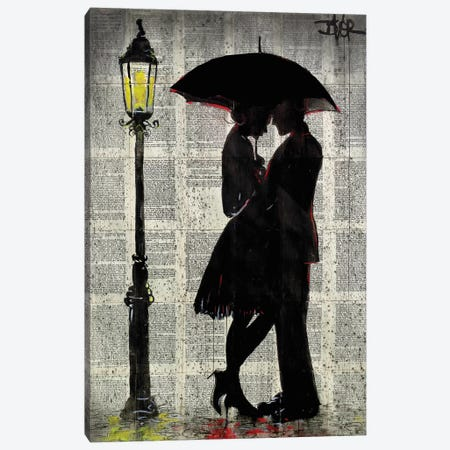 On A Night Like This Canvas Print #LJR337} by Loui Jover Canvas Art
