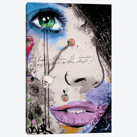 The Strength of Psyche Canvas Print #LJR33} by Loui Jover Canvas Art Print