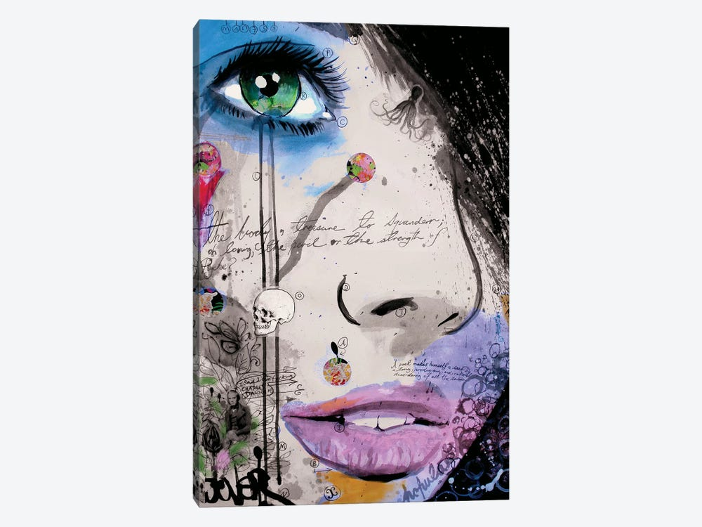 The Strength of Psyche by Loui Jover 1-piece Canvas Art Print