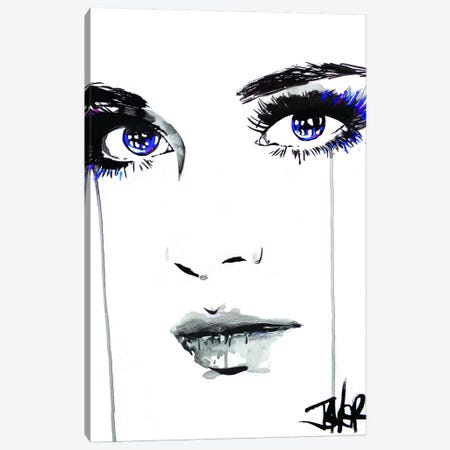 Right Side II Canvas Print #LJR341} by Loui Jover Canvas Art