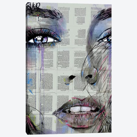 Sanguine 3-Piece Canvas #LJR342} by Loui Jover Canvas Artwork