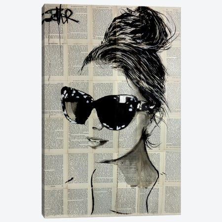 Sunnies Canvas Print #LJR343} by Loui Jover Canvas Art