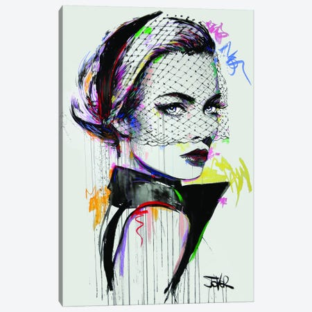 V Canvas Print #LJR347} by Loui Jover Canvas Art Print