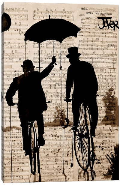 The Umbrella Canvas Art Print