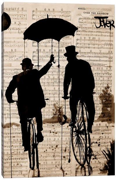 The Umbrella Canvas Art Print