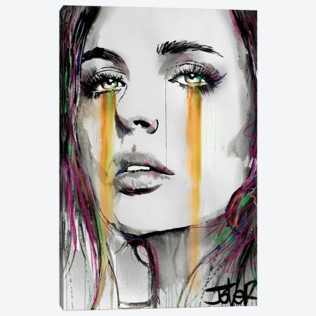 Streams Canvas Print #LJR359} by Loui Jover Art Print