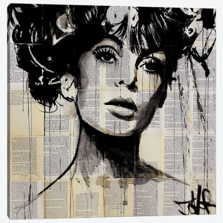 Vogue Canvas Print #LJR35} by Loui Jover Canvas Artwork