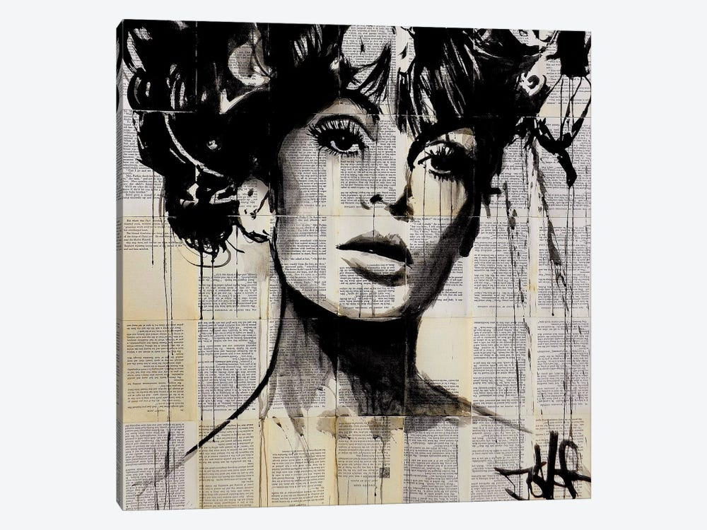 Vogue by Loui Jover 1-piece Canvas Art Print