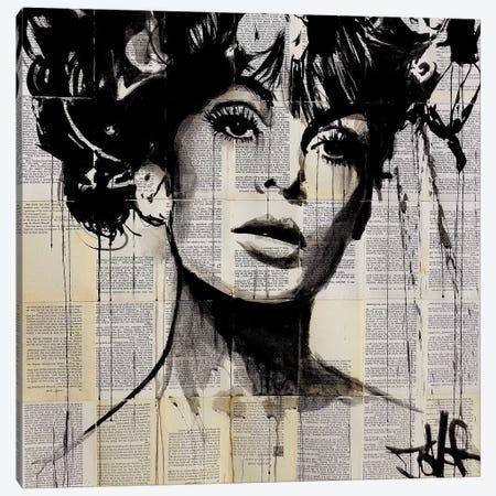 Vogue Canvas Print #LJR35} by Loui Jover Canvas Artwork